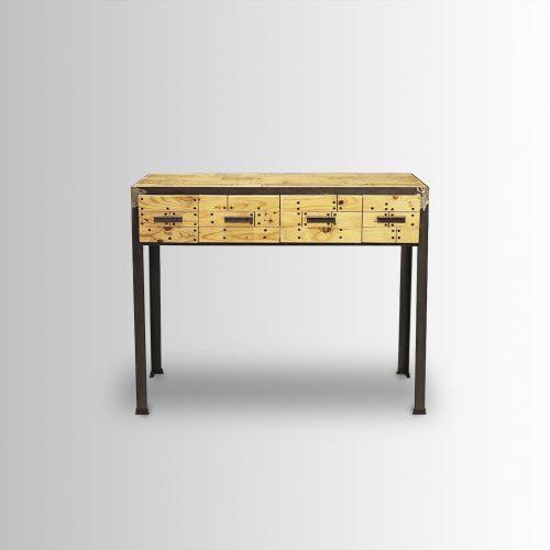 שולחן לכניסה בסגנון Deck