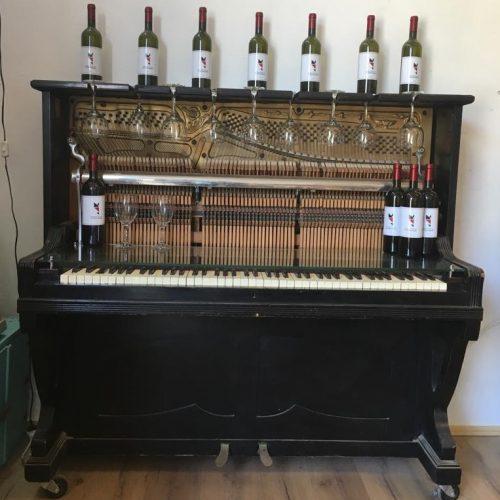 קונסולה / שולחן בר מפסנתר בן 100 שנה