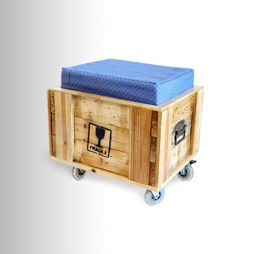 הדום/מושב עם תא איחסון
