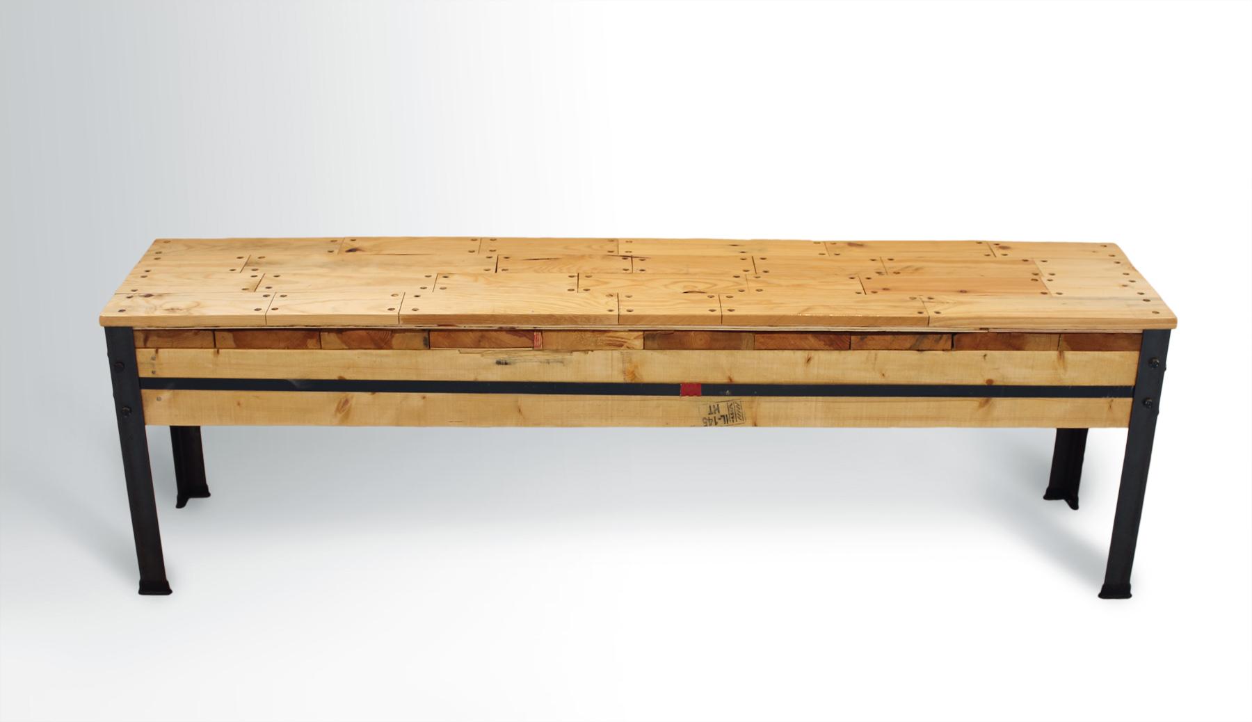 Deck Pattern Bench Ari Shomron Designs