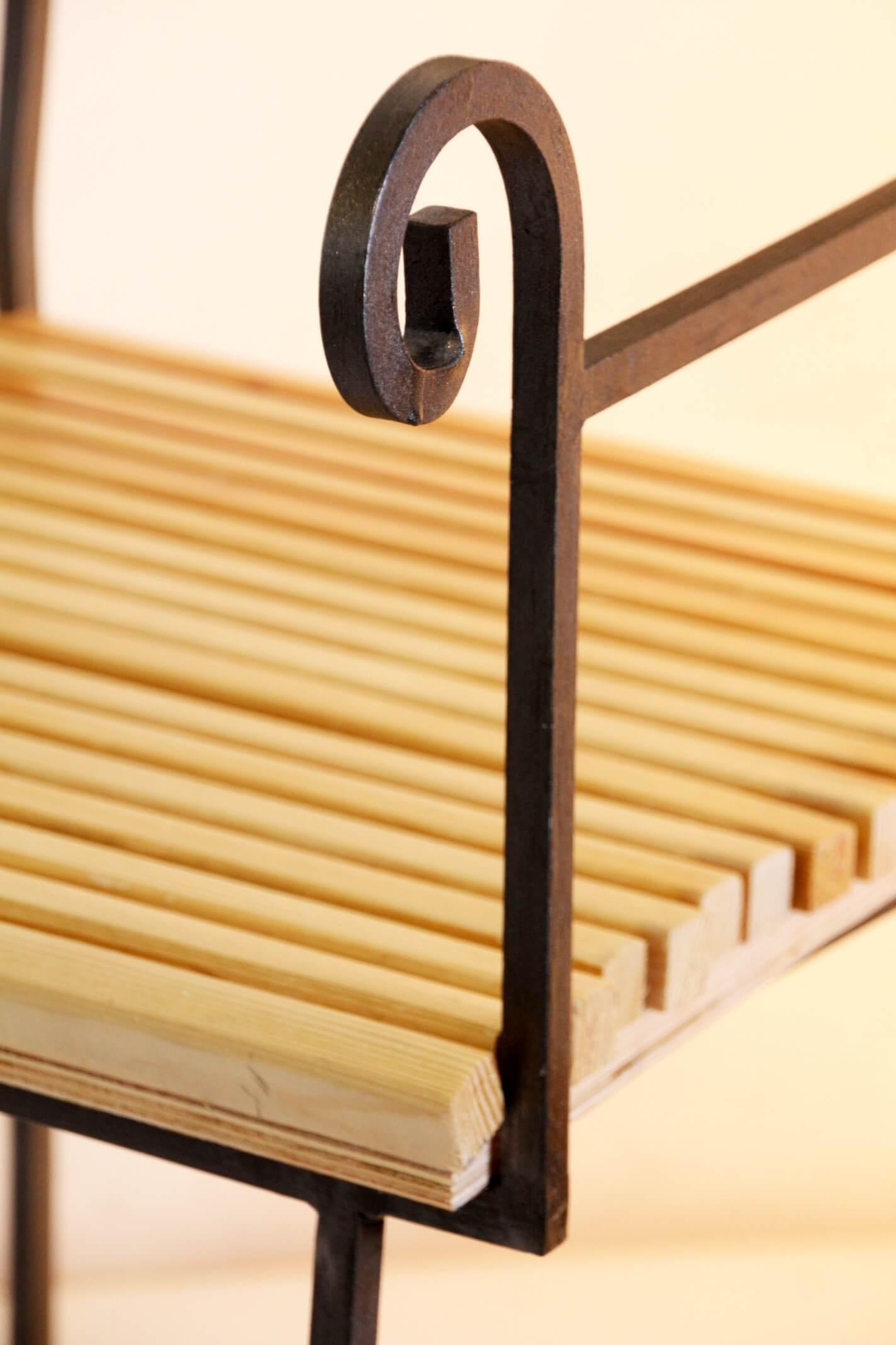 Metal wood Chair Ari Shomron Designs