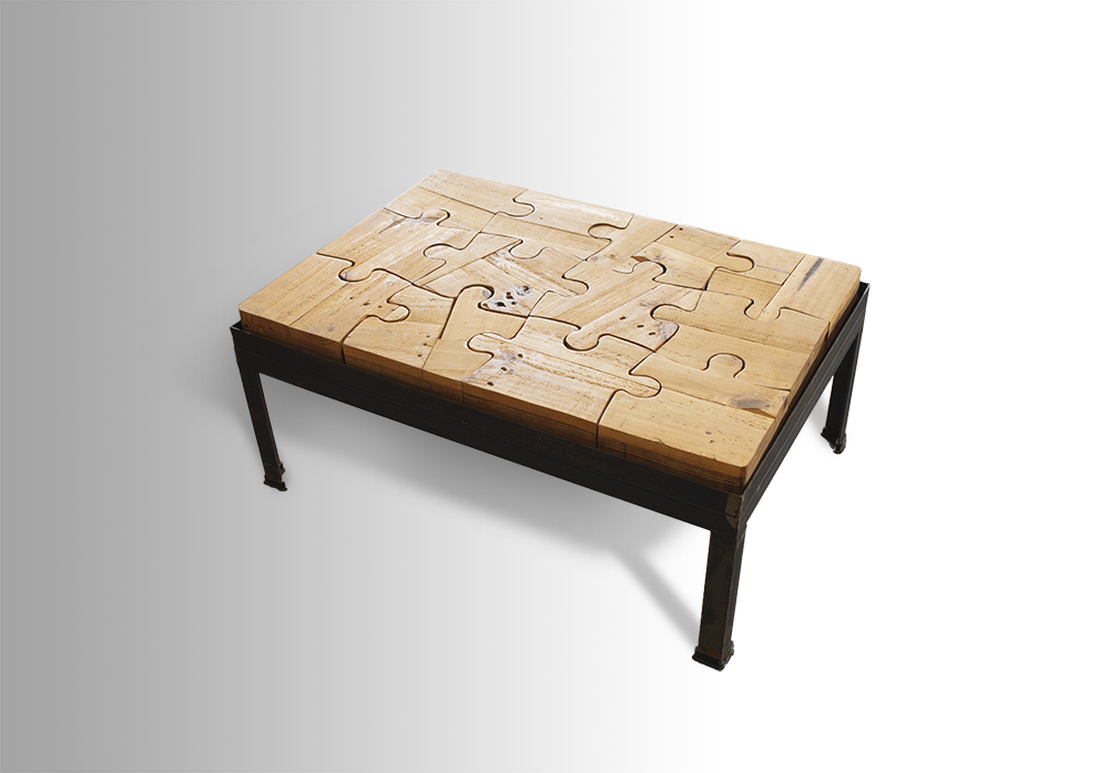 Puzzled Coffee Table Ari Shomron Designs