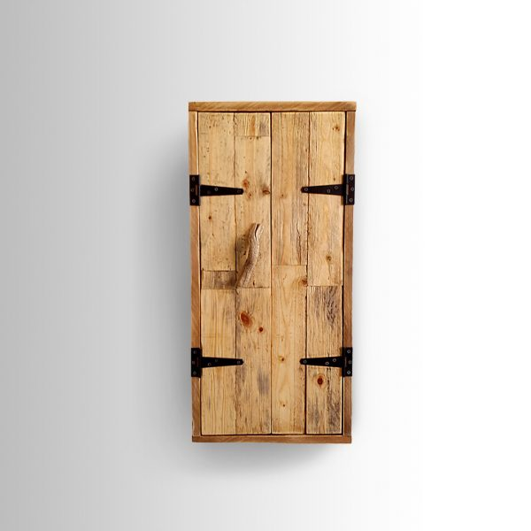 Raw Wood Cabinet Ari Shomron Designs
