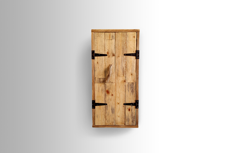 Raw Wood Cabinet
