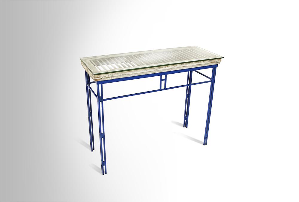 Pharmacy Lamps Restoration Hardware Blue Entryway Table - Entryway Table Blue 6053182be ...