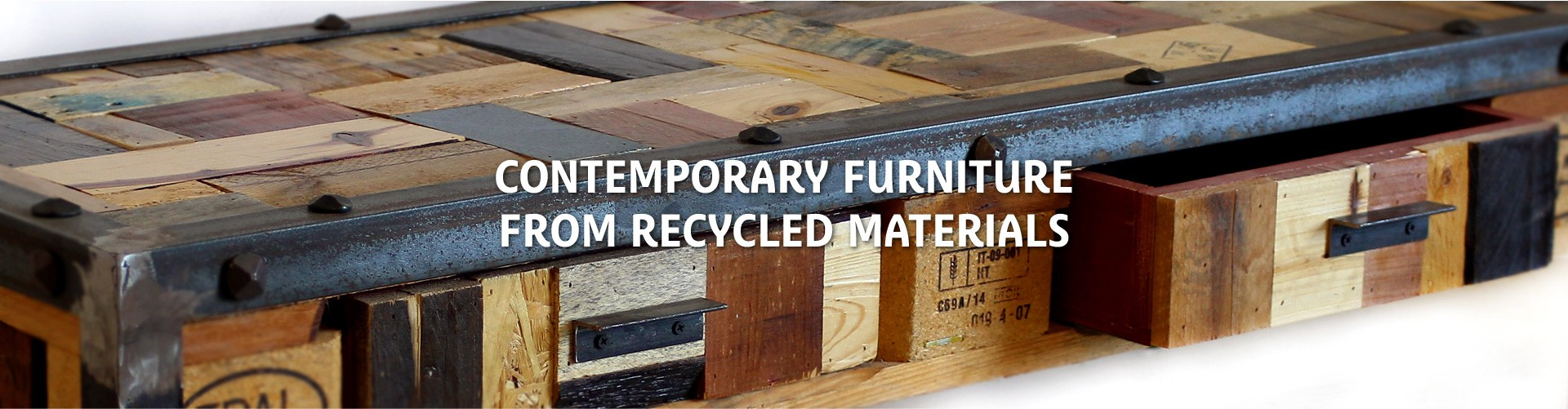 CONTEMPORARY FURNITURE FROM RECYCLED MATERIALS