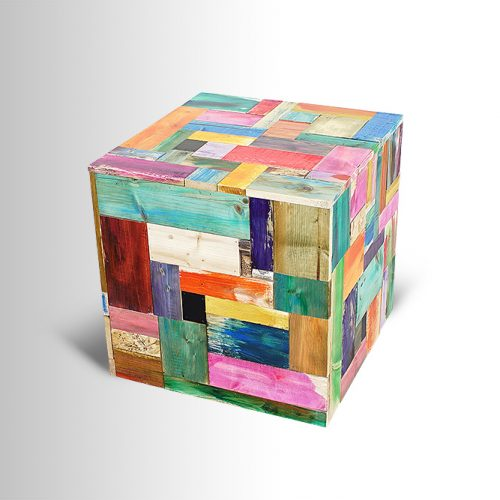 Multi-colored Cube