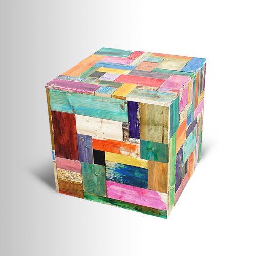 Multi-colored Cube
