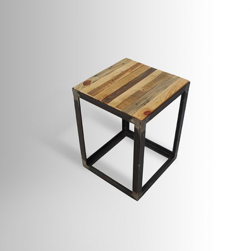 Metal/Wood Stool
