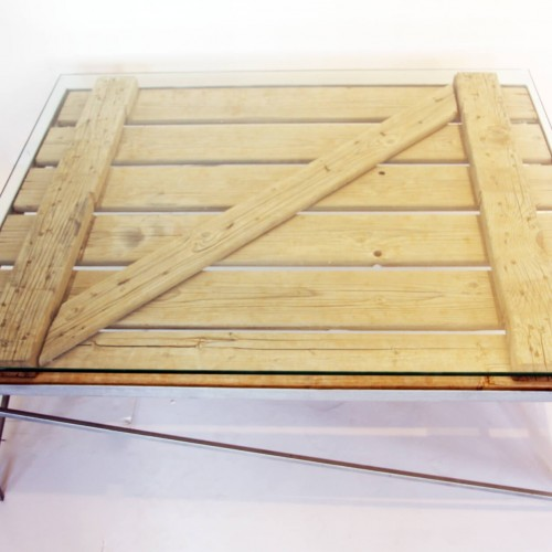 Container Side-panel Coffee Table