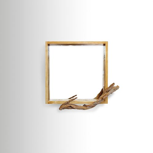 Square with Branch Mirror